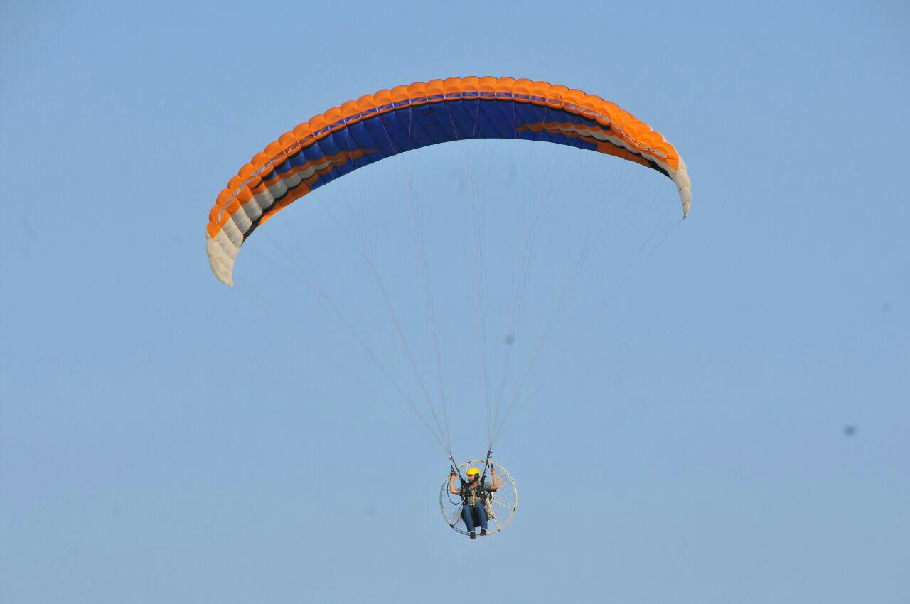 آموزش پرواز پاراموتور